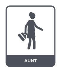 aunt icon vector