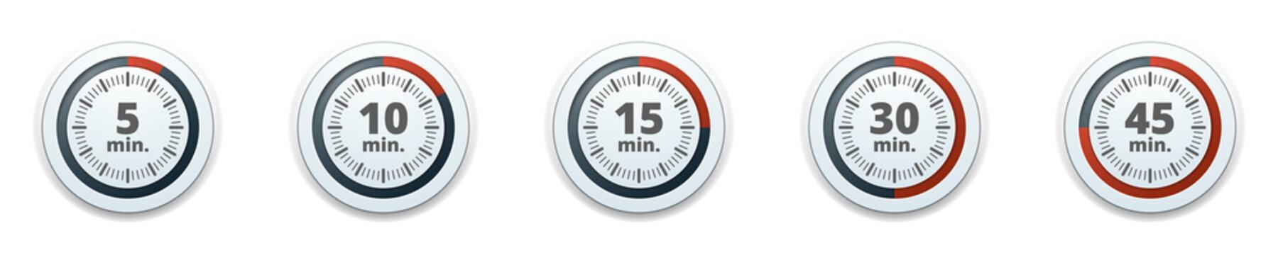 Minutes Time button illustration