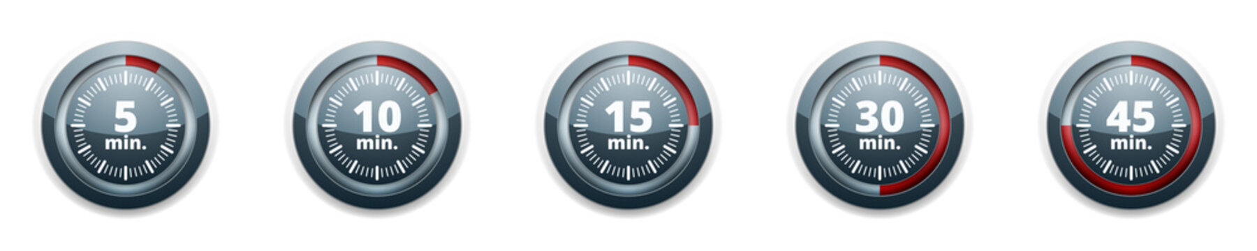 Minutes Time button illustration