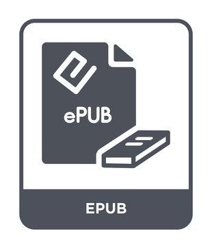 epub icon vector