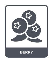 berry icon vector