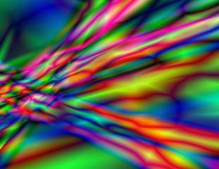 Colorful illusion