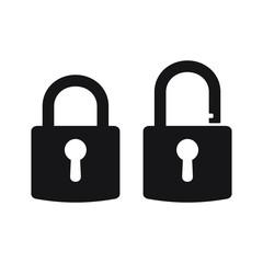 Lock vector icon