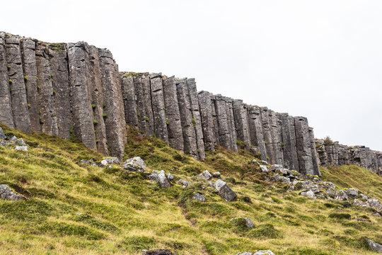 Impressive basalt rock formations on Snaefellsnes, Iceland