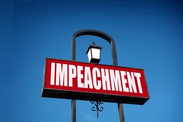 impeachment sign