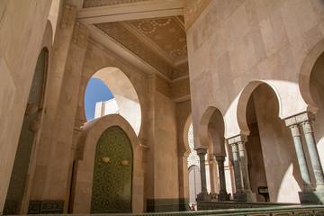Africa, Morocco, Casablanca. King Hassan II Mosque.