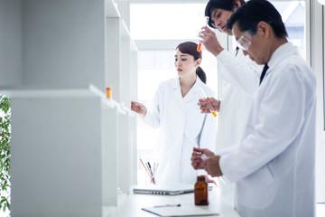 研究室のビジネスイメージ