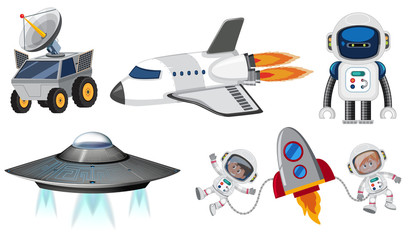 Set of space transportation