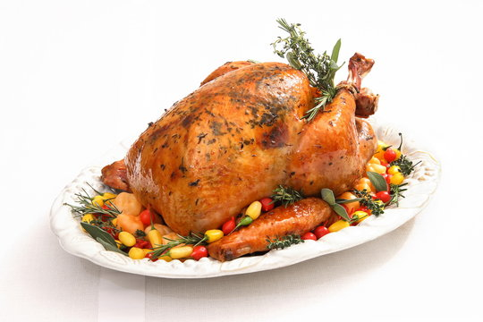 turkey ready to be served