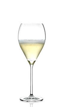 glass of brut