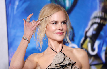 "Cast member Kidman poses at the premiere for ""Aquaman"" in Los Angeles"