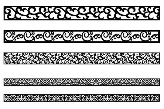 edge ornament for frame design