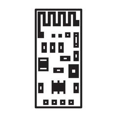 WIFI module on chip