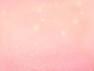 Beautiful pink glitter background