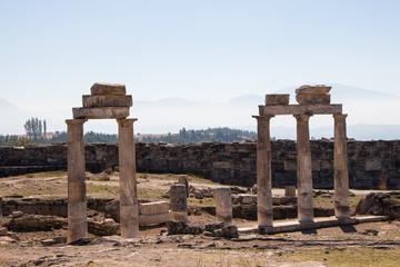 ruins of ancient city Hierapolis