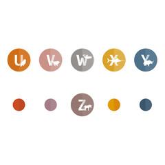 Alphabet der Tiere | U-Z