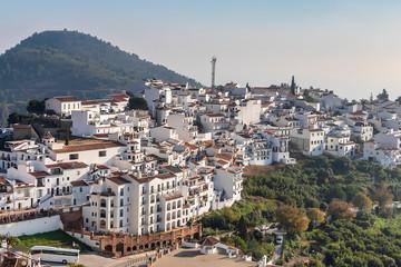 Frigiliana in Costa del Sol, Malaga Province, Andalusia, Spain