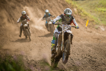 Motocross wyścig