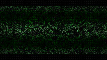 technology data code background Binary digits chaotic