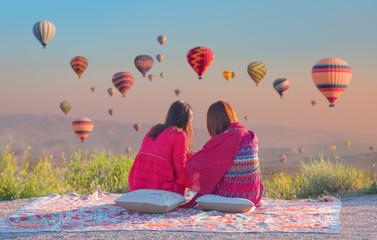 The great tourist attraction of Cappadocia - Turkey