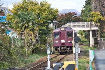 Watasage Valley Railway / Gumma Prefecture Midori-city Omama-machi, Japan