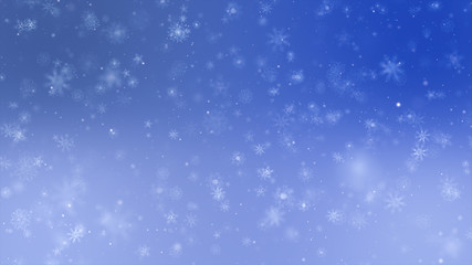 festive christmas celebration background ideas concept with snow falling particle effect
