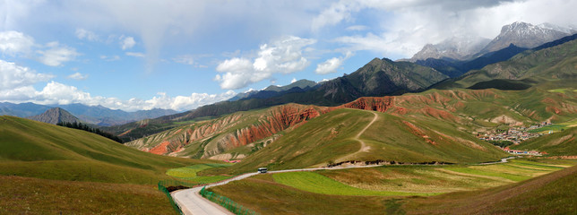 Most of the qinghai-tibet plateau