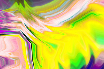 fantasy abstract background of a mix color paints