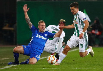 Europa League - Group Stage - Group G - SK Rapid Wien v Rangers