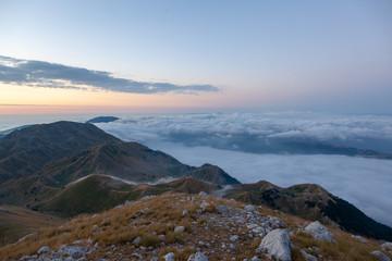 Nuvole Montagne