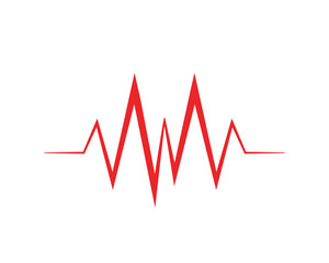 Art design health medical heartbeat pulse