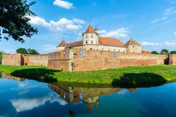 Wall Mural - Medieval fortress of Fagaras, Transylvania, Romania
