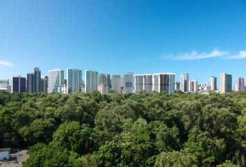 Fortaleza vista do parque, Ceará, Brasi