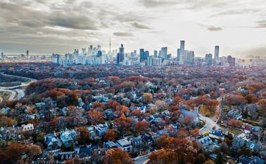 Wall Murals Toronto Aerial Toronto Views
