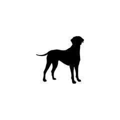 Wall Murals Panther dog vector icon. dog sign on white background. dog icon for web and app