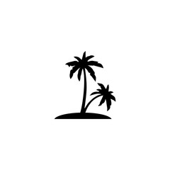 palm vector icon. palm sign on white background. palm icon for web and app