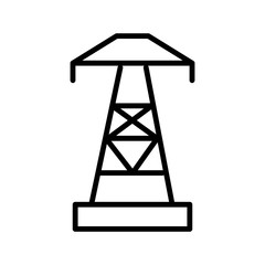 Electric vector icon
