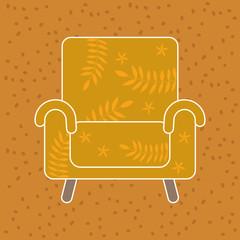 Goldener Stuhl