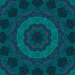 abstract digital kaleidoscope, mandala