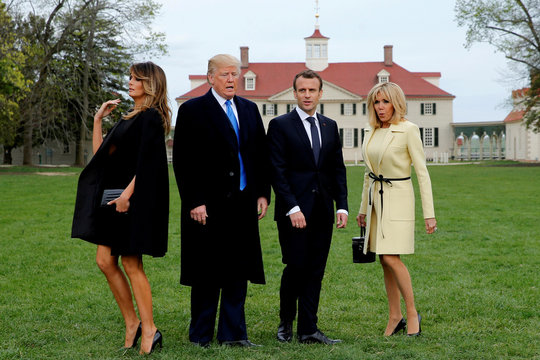 Pictures of the Year: For Trump, a year of high drama at home and abroad