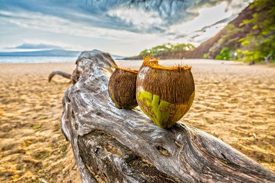 Impression of Makena Beach in Maui, Hawaii