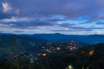 Mines View Observation Deck in Baguio, the Philippines