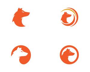 Fox vector illustration icon