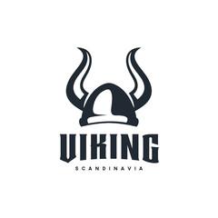 "Viking logo design inspiration. Good for masculine"" business: Transportation, Cross Fit, Gym, Game Club, etc - Vector"