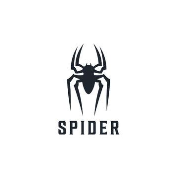 Spider Badge logo design inspiration