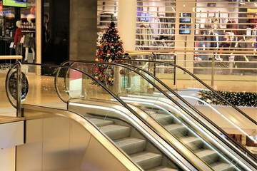 An Image of a shopping and christmas