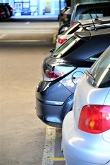 An Image of a parking of a car