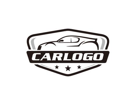 Car automotive logo template