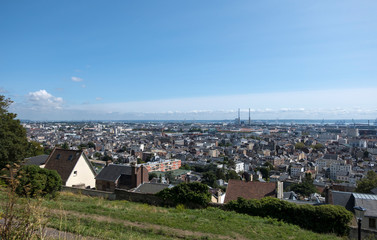 Cityscape of Le Havre in a summer day. Normandy, France