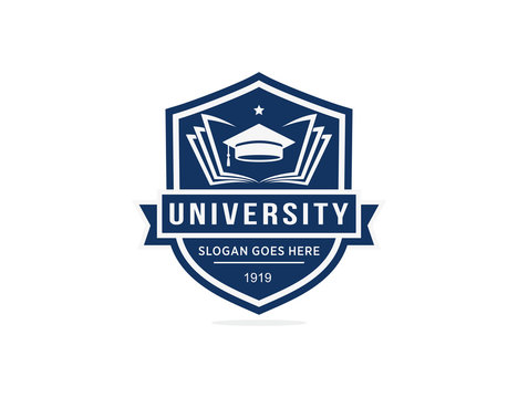 University college school logo template